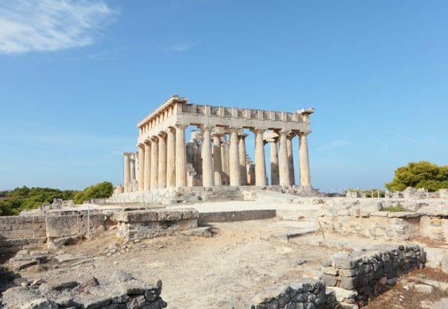 Aegina temple