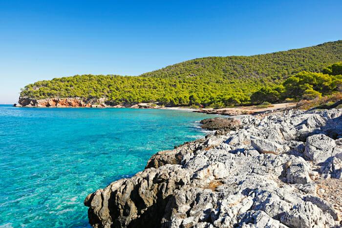 Agistri - Dragonera beach