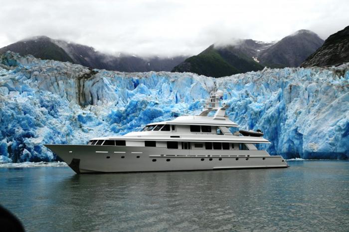 Alaska charter yacht