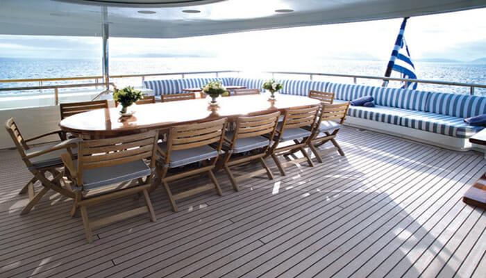 lexandra Upper Deck Dining Table