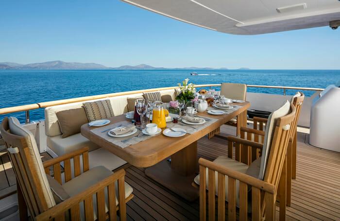 Alexia AV Main Deck Dining