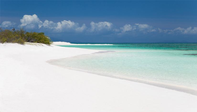 Anegada sandy beach