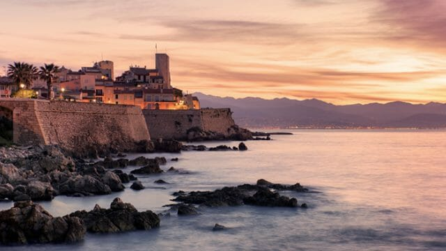 Antibes sunset