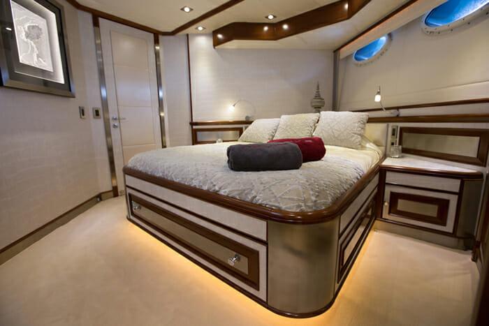 Ascari 1 VIP cabin
