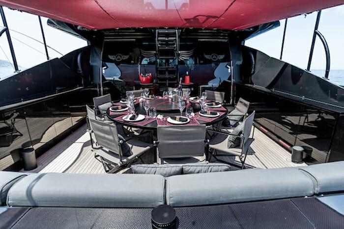 Ascari 1 deck dining