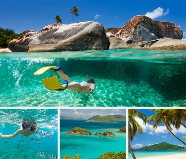 BVI charters collage