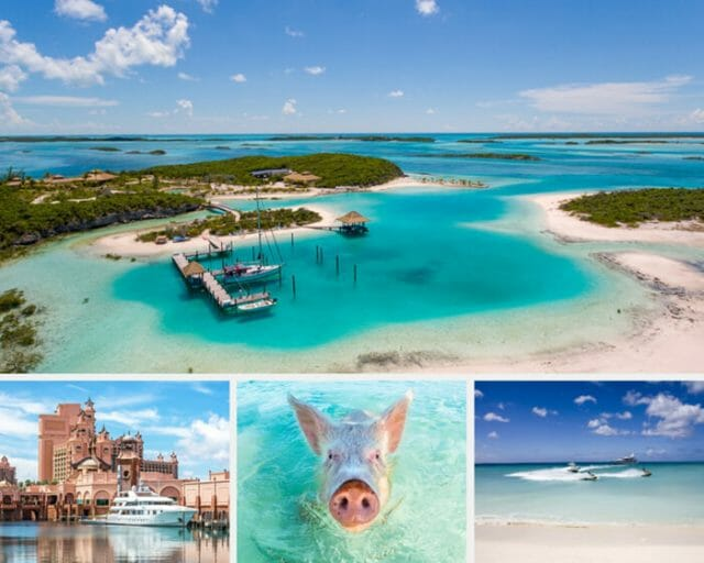 Bahamas photo collage