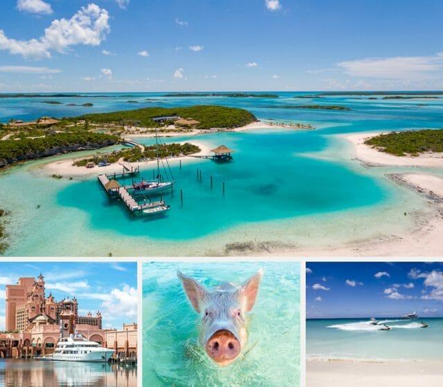 Bahamas photo collage