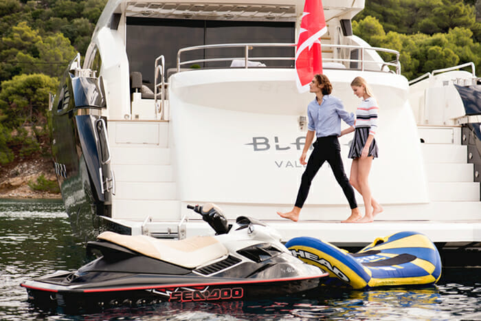 Blade Aft and Water Toys