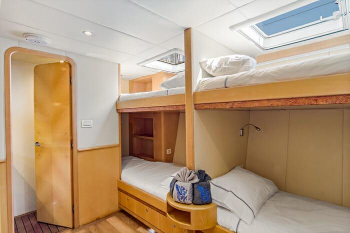 Blue Gryphon Bunk Cabin