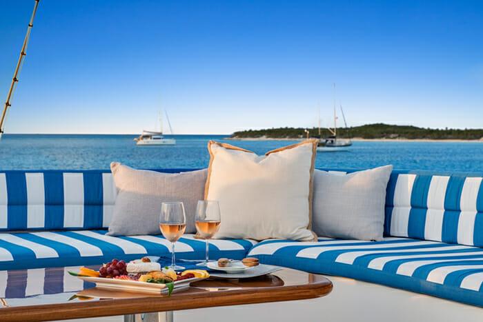 Blue Gryphon Sundeck Table