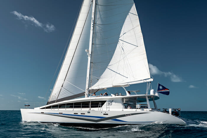 Yacht Blue Gryphon 83 Prout Catamaran