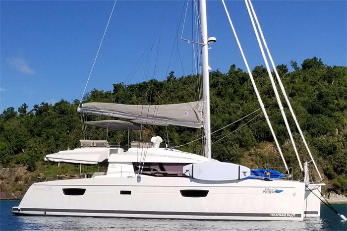 Blue Pepper catamaran