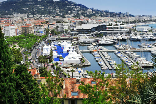 Cannes boat event