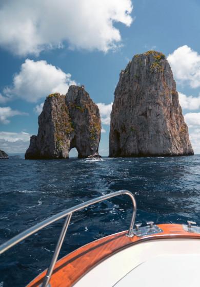 Capri - crewed yacht charter Italy