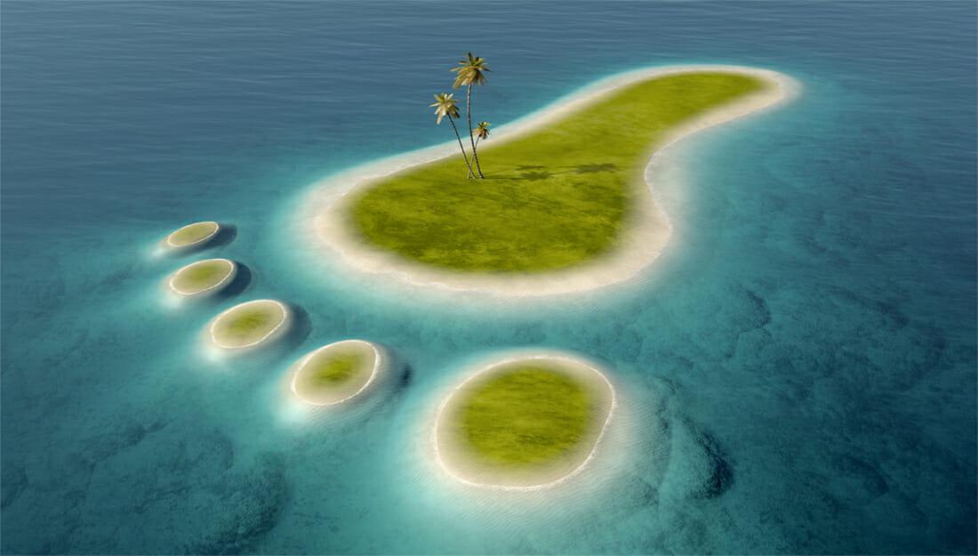 Carbon Footprint island