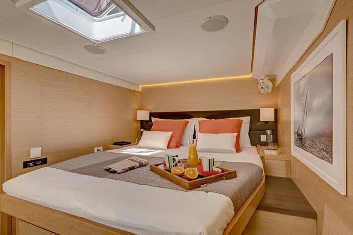 Catamaran GB Odyssey - guest cabin