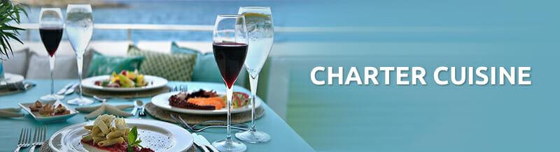 Charter cuisine banner