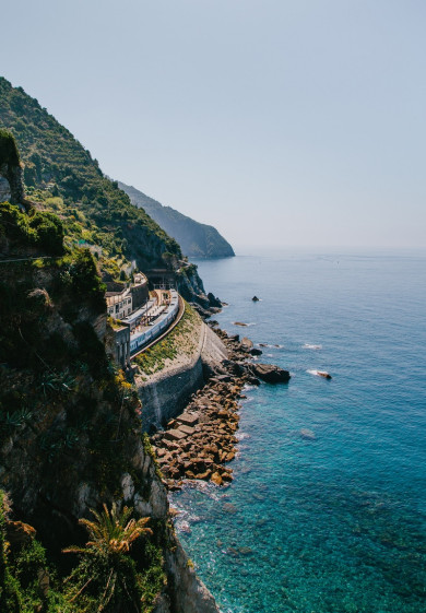 Cinque Terre Landscape - skippered Yacht charter destination