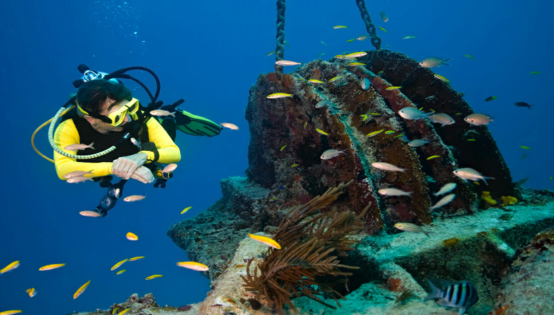 Diving in the BVI