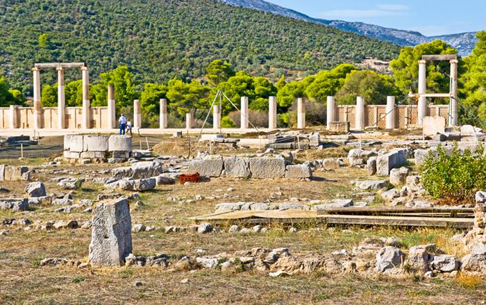 Epidavros ruins