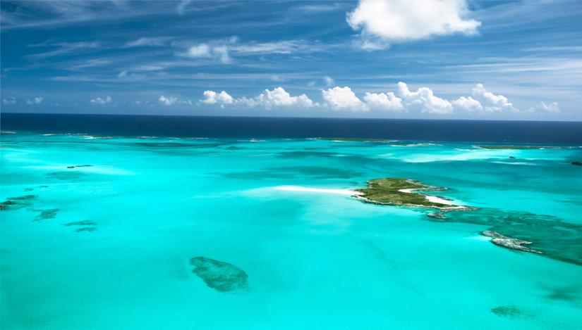 Exumas Bahamas crystal clear water