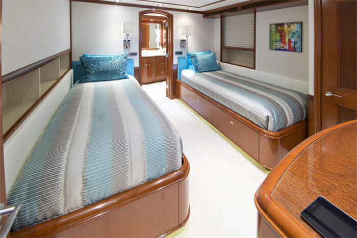 Fore Aces Twin Cabin