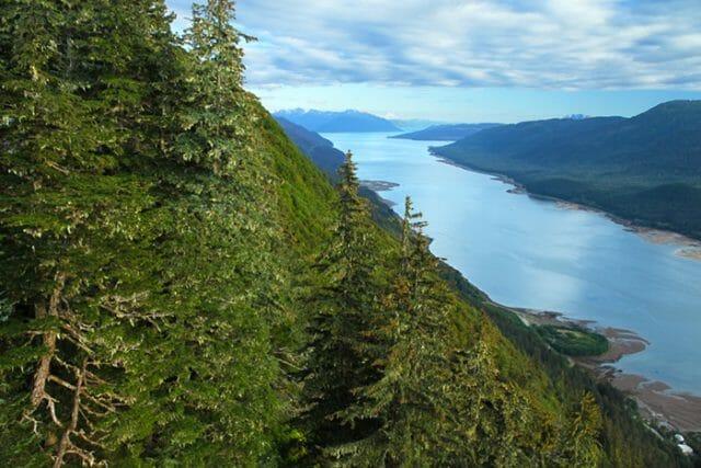 Gastineau Channel Alaska