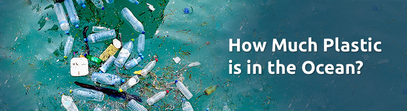 How much plastic is in the ocean banner