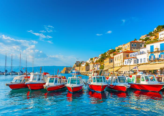 Hydra taxi boats