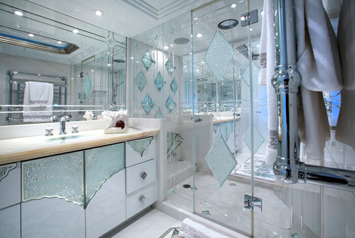 I Love This Boat Master Bathroom