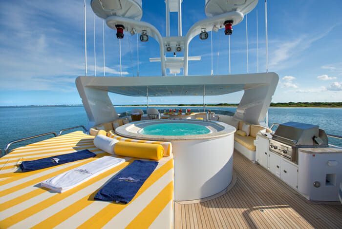 I Love This Boat Sundeck Jacuzzi