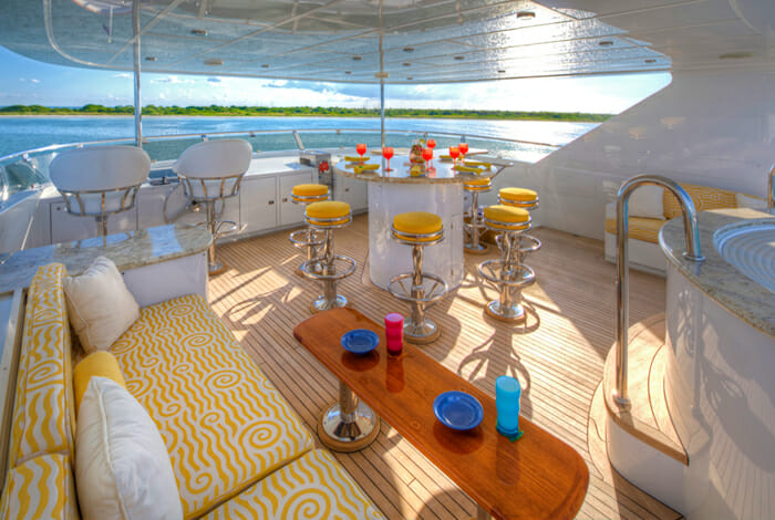 I Love This Boat Sundeck