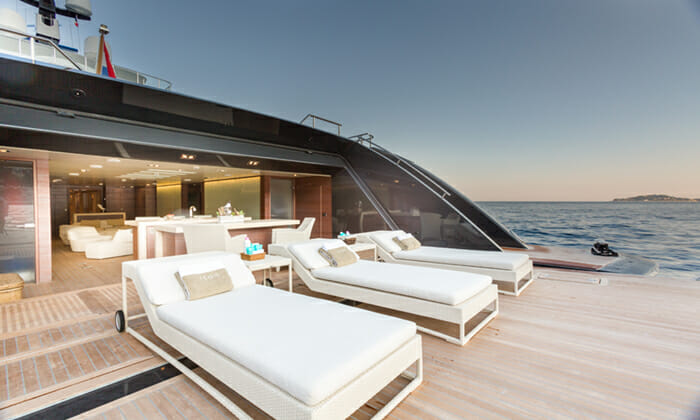 Icon Aft Deck Loungers