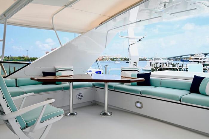 Impulse Yacht Flybridge Seating