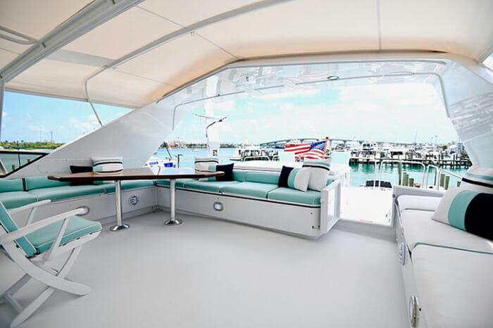 Impulse Yacht Flybridge