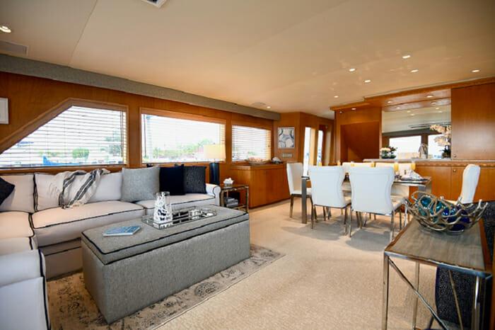 Impulse Yacht Salon and Dining