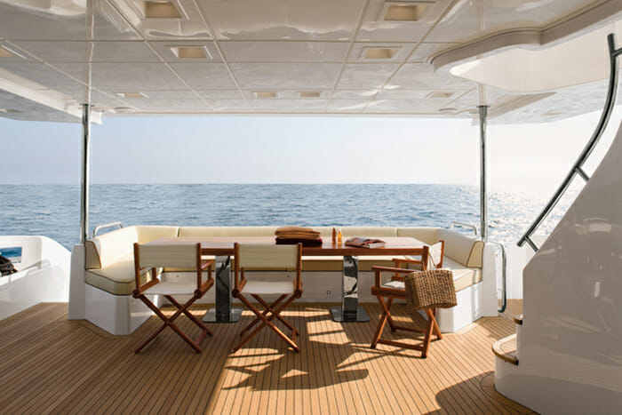 Jester Aft Deck Dining Table