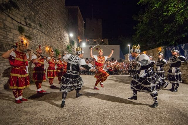 Korcula Croatia traditional dance