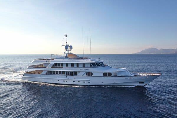 Yacht LADY ELLEN II | 158' CRN Ancona Motor Yacht