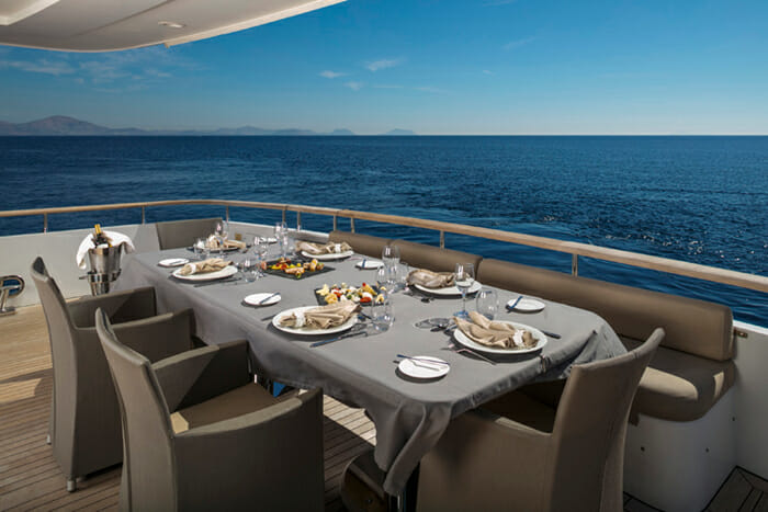 Mabrouk Aft Deck Dining