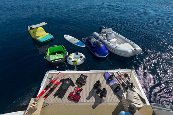Mabrouk Swim Platform and Water Toys