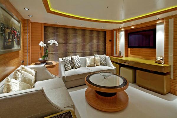 Mia Rama Master Cabin Lounge Area