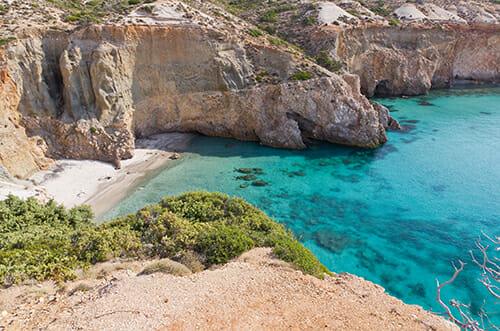 Milos island Cyclades