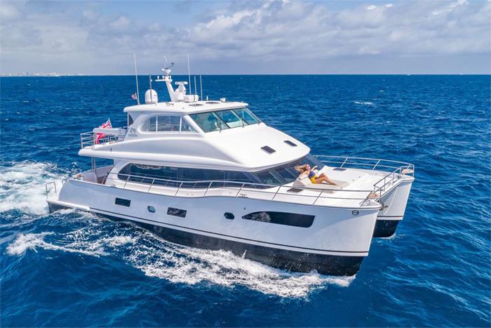 Mucho Gusto catamaran