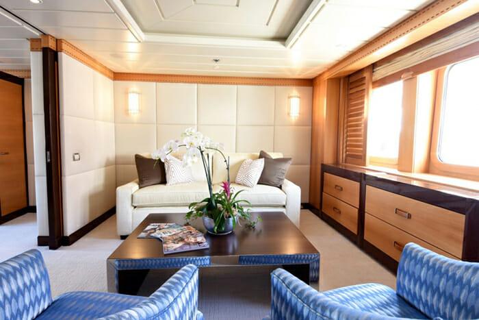 Nita K II Master Cabin Lounge Area b