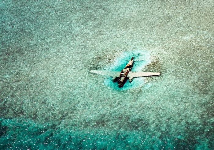 Norman's Cay sunken plane