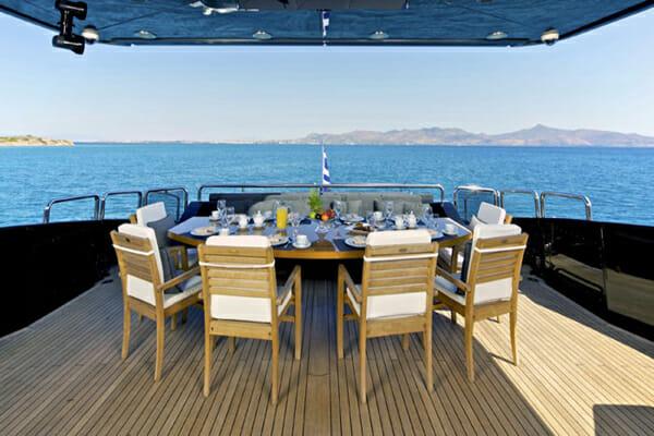 O'Pati Aft Deck Dining