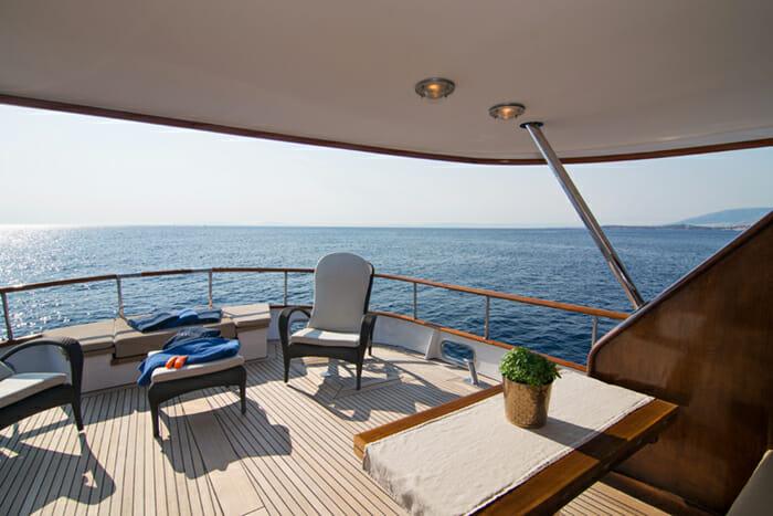 Oceane II Aft Deck