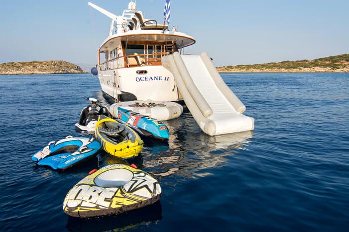 Oceane II Slide and Toys